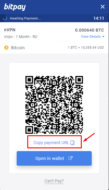 How to Decrypt Bitpay Invoice URL