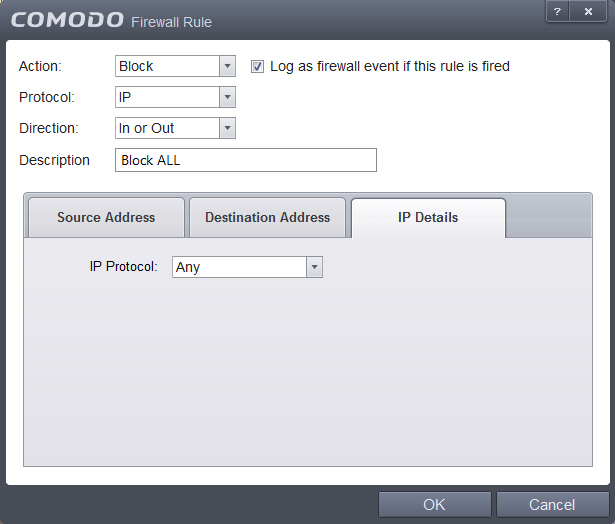 windows 10 comodo firewall